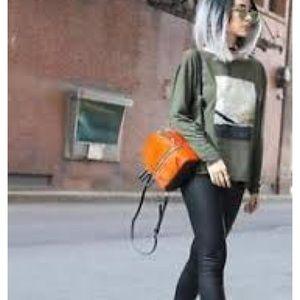Zara Bags - Zara Leather Backpack